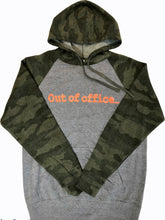 Load image into Gallery viewer, Camo Hoodie With Contrast Body