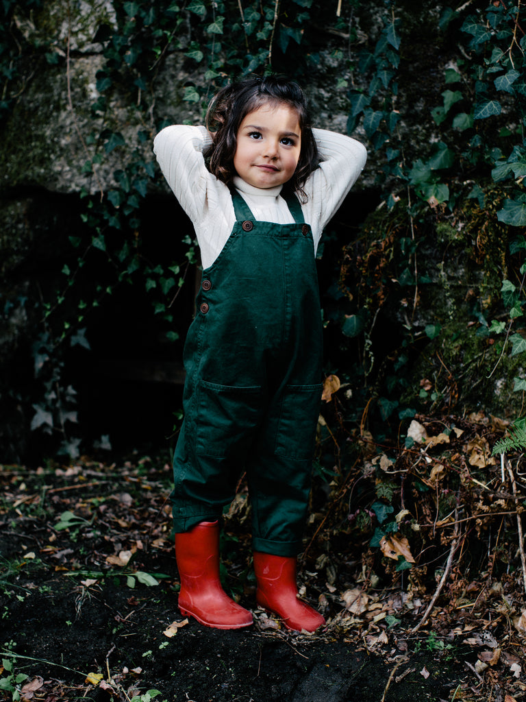 Overalls - Forest Green
