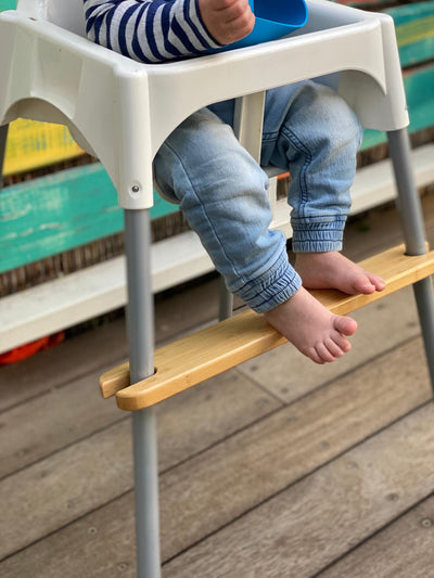 Has your little one got adequate foot support in their highchair?