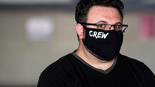 100 Pack - Crew Face Mask