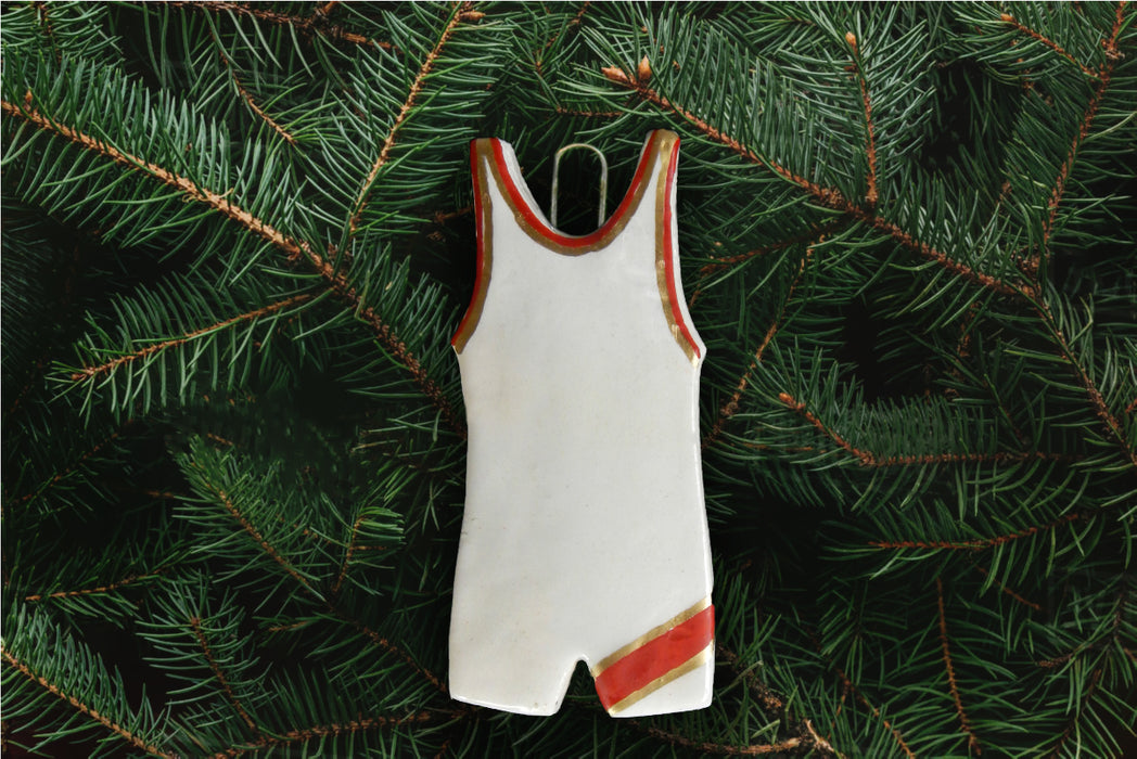 Wrestling Uniform Ornament
