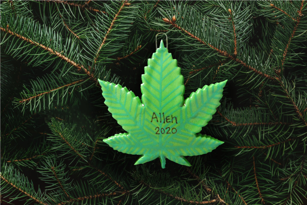 Marijuana / Hemp Plant Ornament