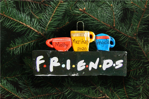 Friends Sitcom Ornament