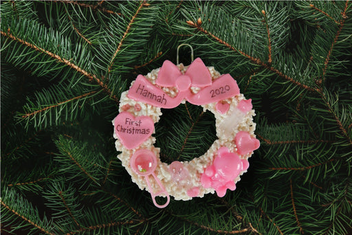 Pink Baby Wreath