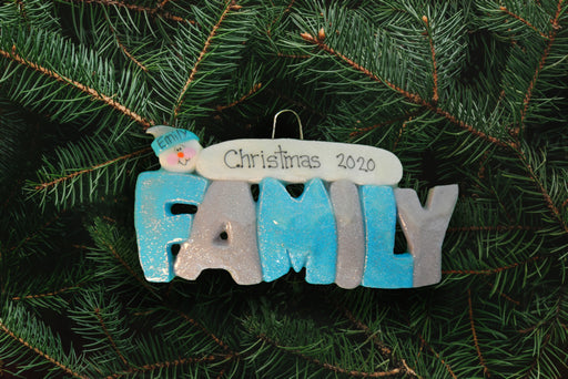Family Ornament - DoughDelights