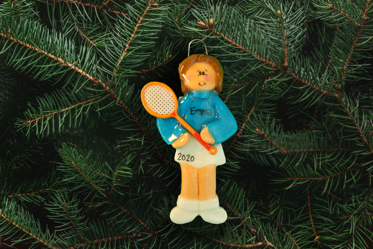 Tennis Player-Female - DoughDelights