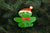 Large Christmas Frog - DoughDelights