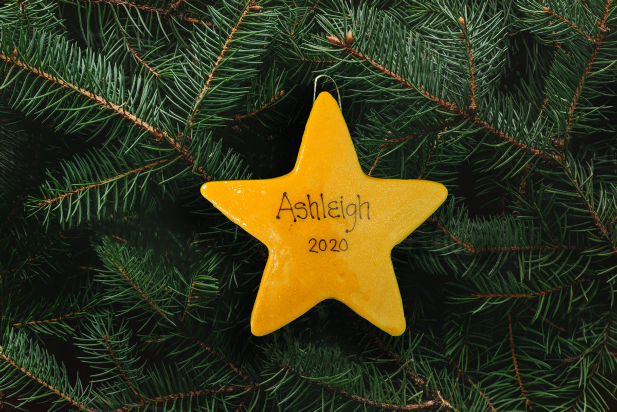 Star Ornament - All Colors Available - DoughDelights