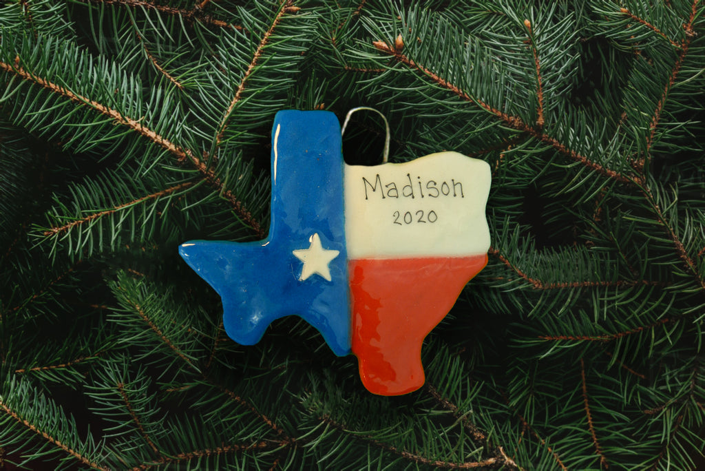 Texas Ornament - DoughDelights