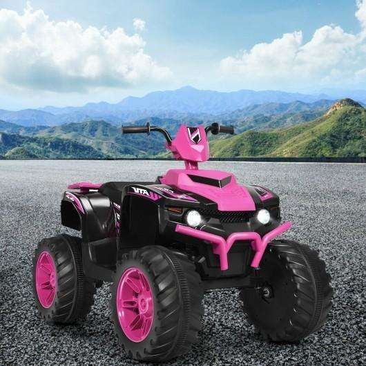 12V Kids 4-Wheeler ATV Quad Ride On Car -Pink