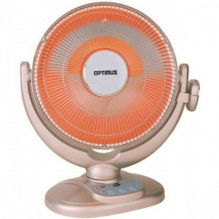 14 inch Energy-Saving Oscillating Dish Heater with Remote Control - Reconditioned