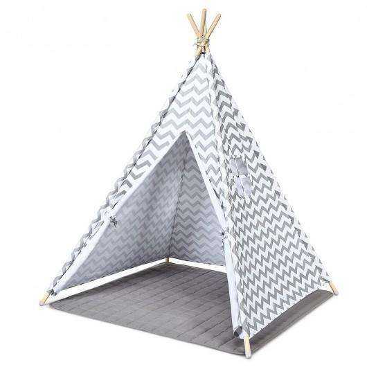 5.2' Portable Kids' Indian Play Tent