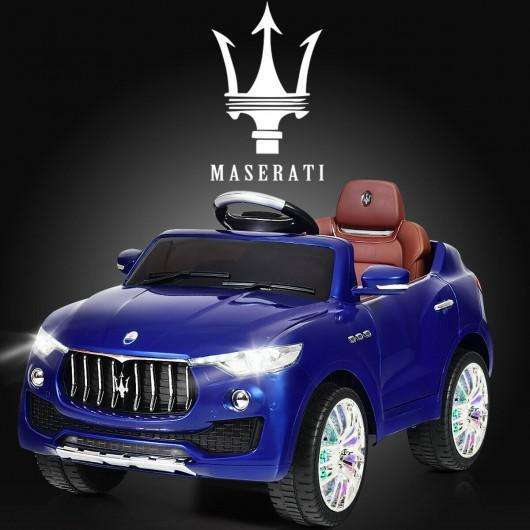 6V Licensed Maserati Kids Ride On Car-Blue