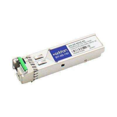 Add-on Addon Mrv Sfp-gd-bd34 Compatible Taa Compliant 1000base-bx Sfp Transceiver (smf,