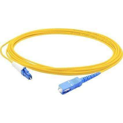 Add-on This Is A 1m Lc (male) To Sc (male) Yellow Simplex Riser-rated Fiber Patch Cable