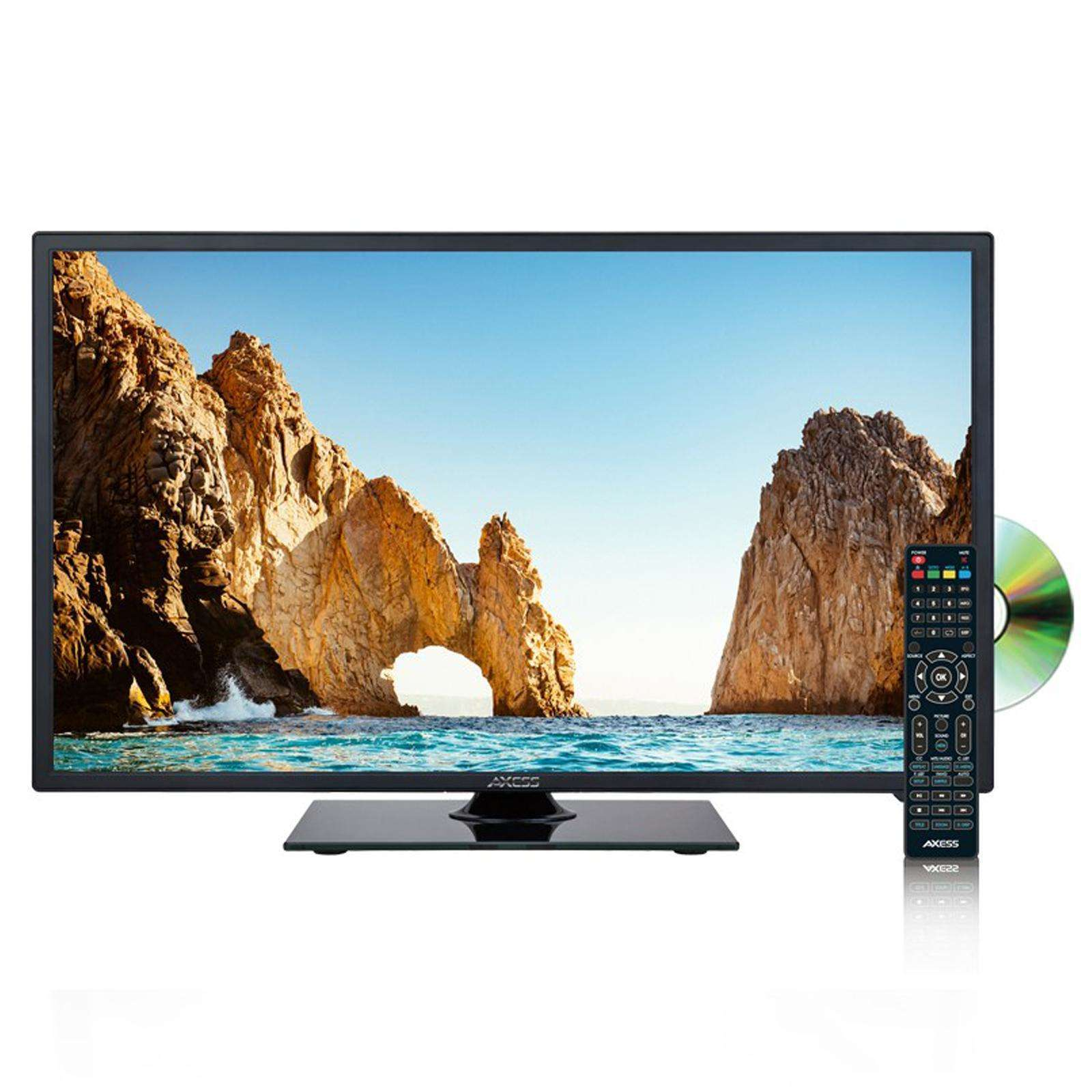 Axess 18.5 Inch High-Definition LED TV with DVD Player