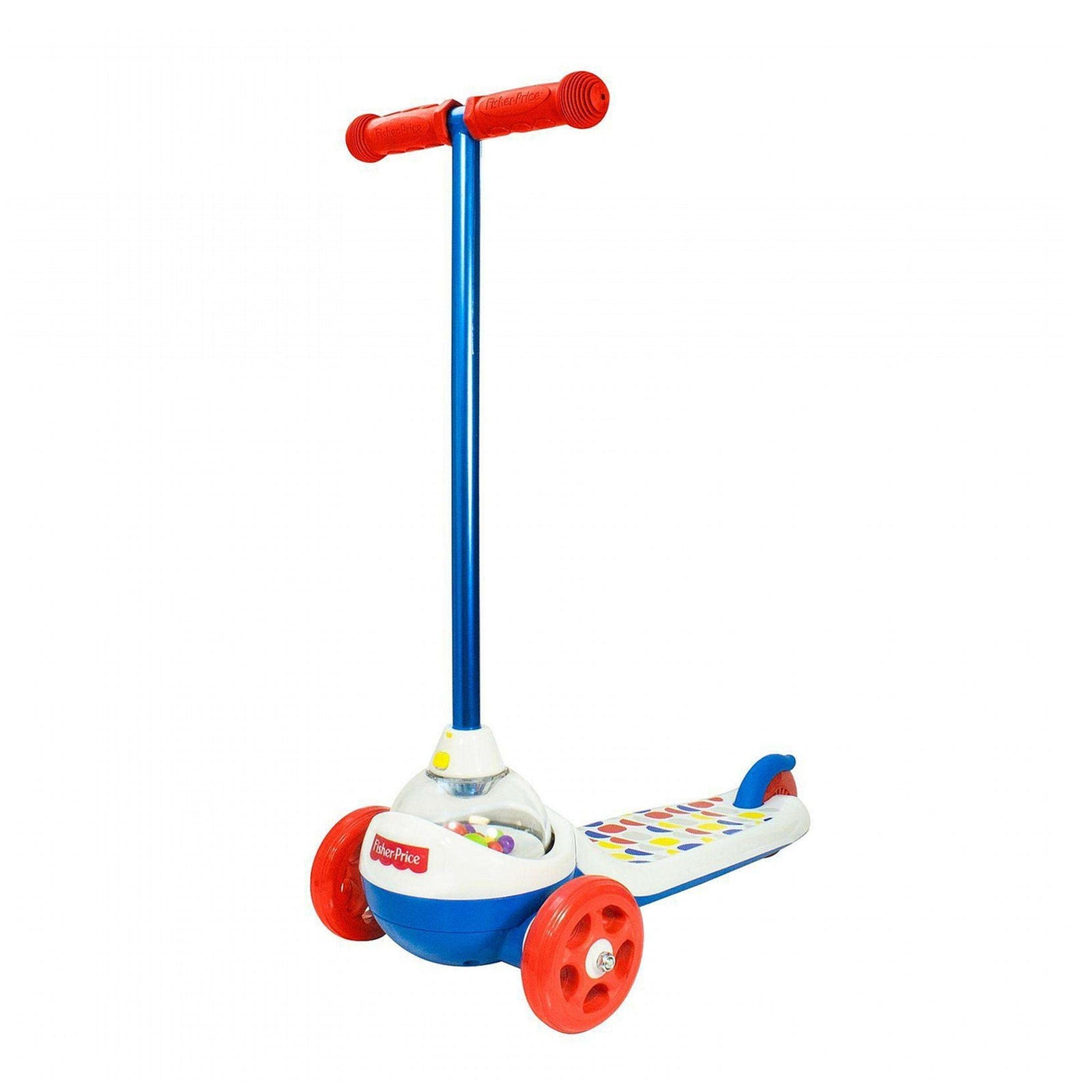 Fisher-Price 3-Wheel Scooter with Pop Corn Sound Effects