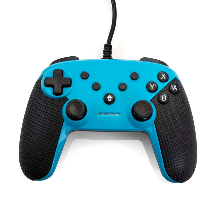 Gamefitz Wired Controller for the Nintendo Switch in Blue