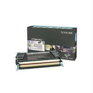 Lexmark C736-x736-x738 Yellow High Yield Return Program Toner Cartridge 10k