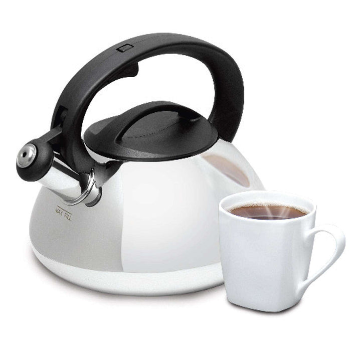 Mr Coffee Harpwell  2 Qt Whistling Tea Kettle