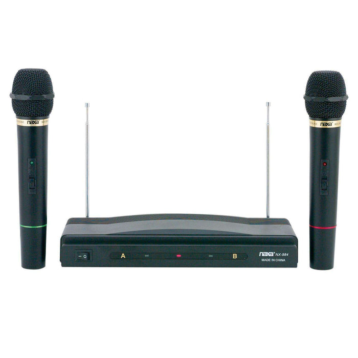 Naxa NAM-984 Professional Dual Wireless Microphone System