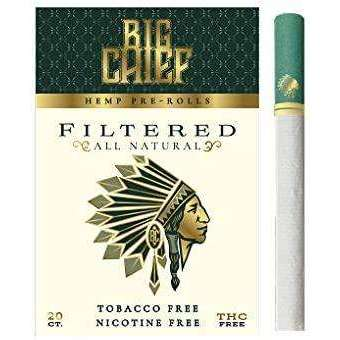 Premium Hemp Cigarettes | Organic | 20ct Sealed Pack | Nicotine Free | Made in USA Herbal Cigarettes - Tobacco and Nicotine Free (Menthol)
