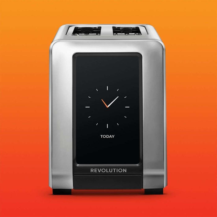 Revolution Cooking 2-Slice Smart Toaster - Brushed Stainless Steel