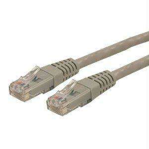 Startech 25ft Gray Cat6 Ethernet Cable Delivers Multi Gigabit 1-2.5-5gbps & 10gbps Up To