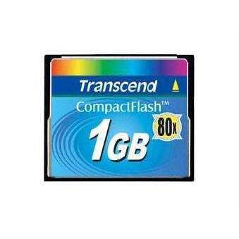 Transcend Information Transcend 1gb Compact Flash Card