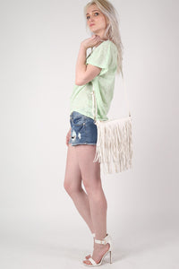 Burnout Paisley Print Oversized Top in Mint Green 5