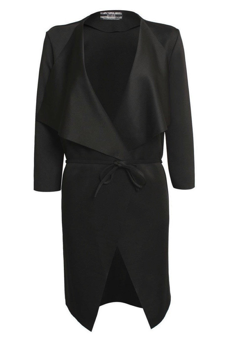 Waterfall Jacket in Black 2