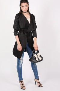 Waterfall Jacket in Black 3
