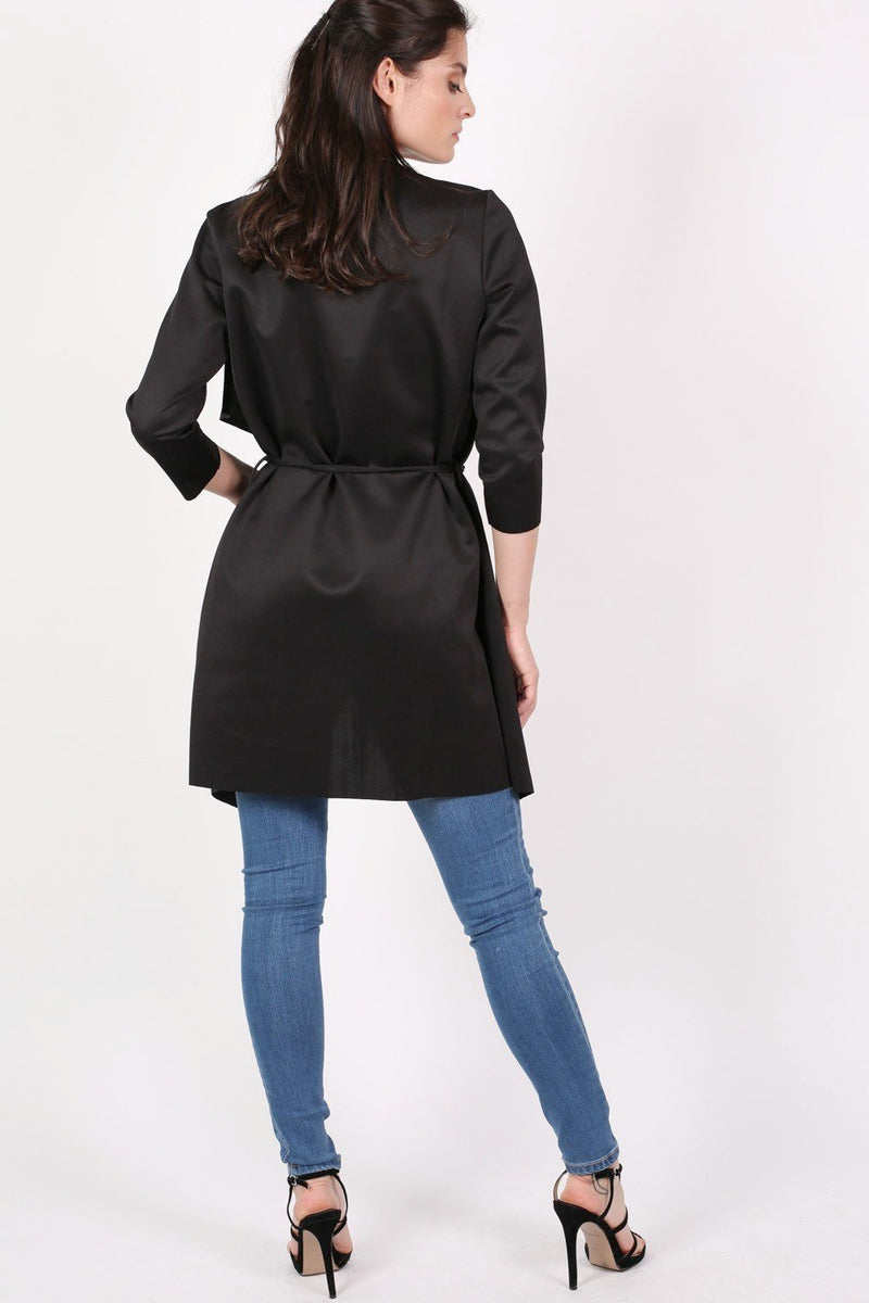 Waterfall Jacket in Black 5