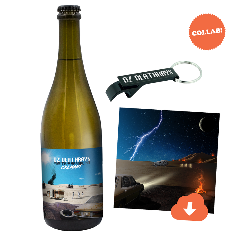 DZ Deathrays Positive Sparkling + Bottle Opener + Album Download Bundle