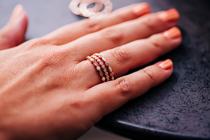 Princess Stacker Ring