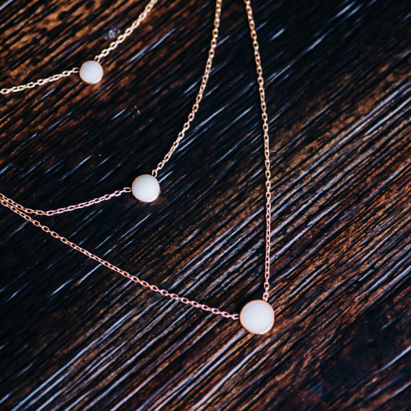 Triple Blessed Layered Necklace