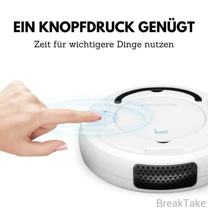 Staubsauger Roboter Multifunktional 3 in 1 mit 1800Pa - Breaktake