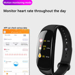 SS-M5 Smart Band Fitness Tracker