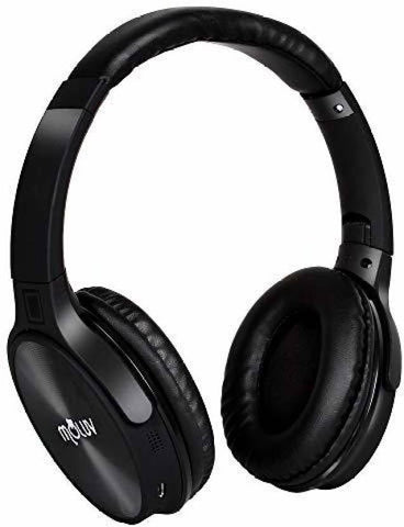 MOLUV ML-13 Bluetooth Headphone  (Black, Wireless over the head) - Shoppie Shop