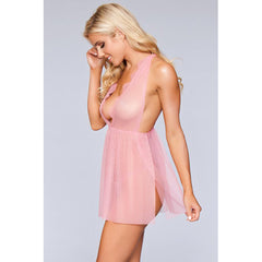 Sweet Dreams Babydoll - Dusty Rose
