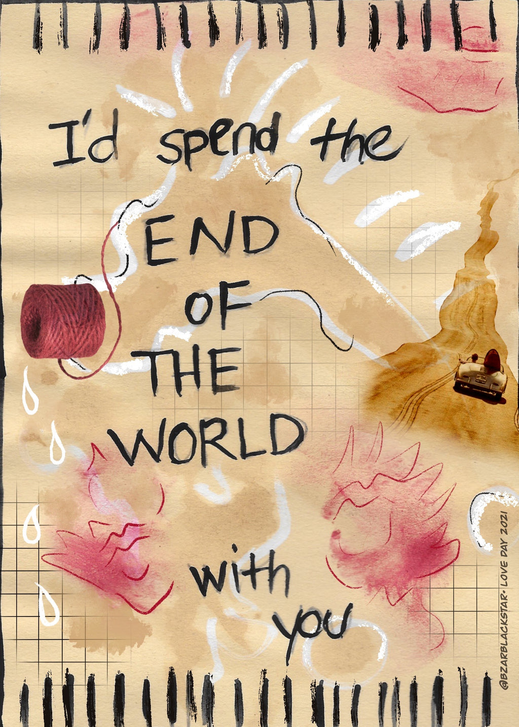 I'd Spend The End of The World With You
