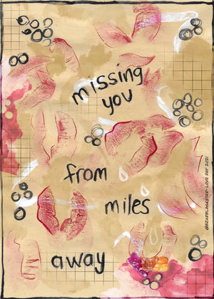 Missing You From Miles Away