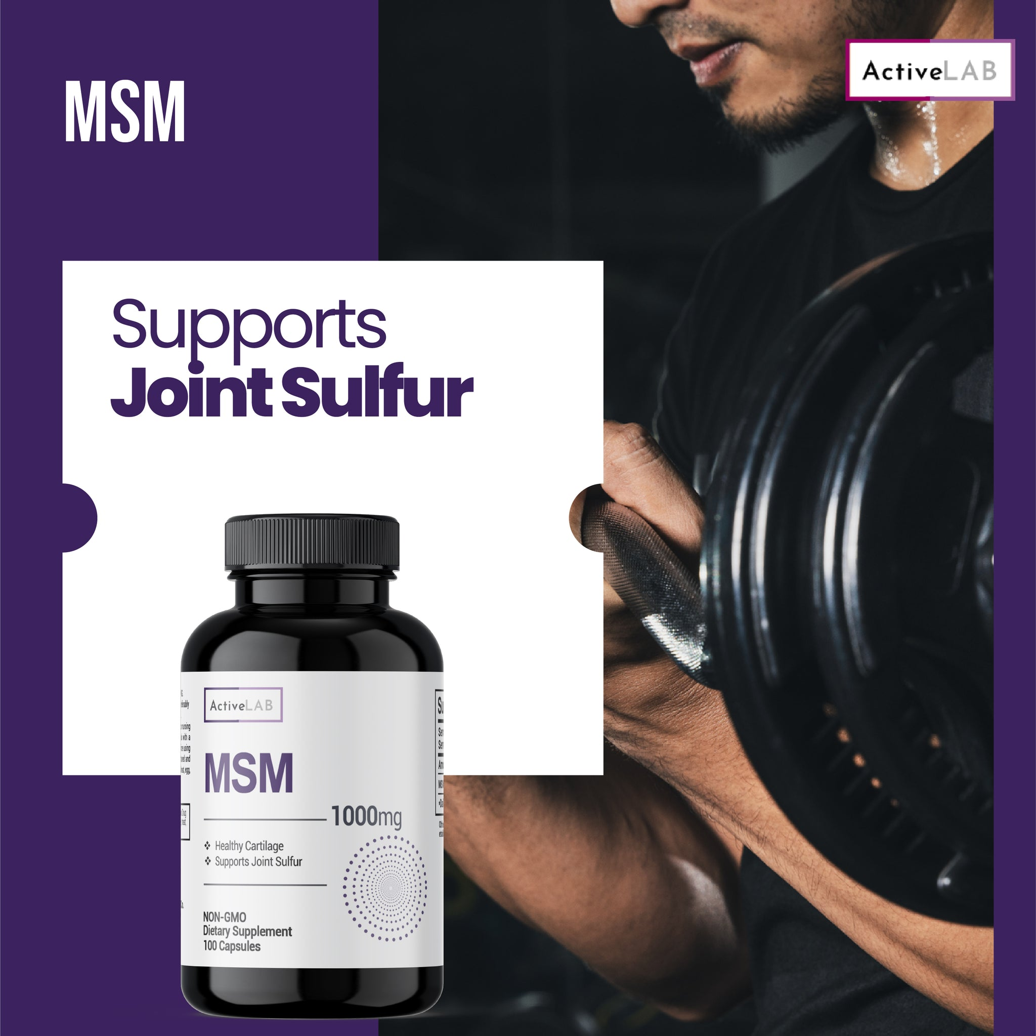 MSM (methylsulfonylmethane) 1000mg