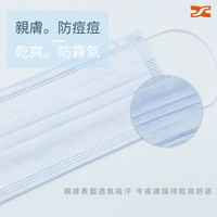 SX 3-PLY Protection Face Mask (Blue) 三層防護口罩 (深藍色)