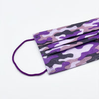 SX 3-PLY Protection Face Mask (Purple Camouflage) 三層防護口罩 (紫色迷彩)