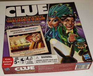 Jeu Clue junior au cirque