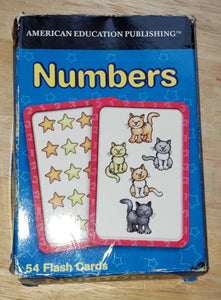 Jeu numbers cartes