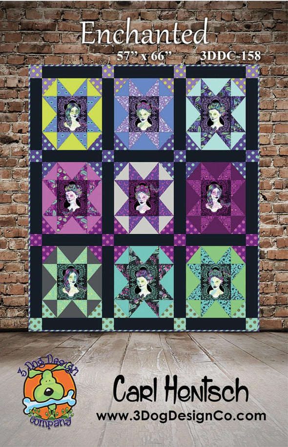 3 Dog Design Co Magical Quilt Pattern