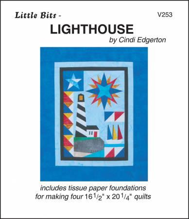 A Very Special Collection Little Bits Lighthouse Quilt Pattern