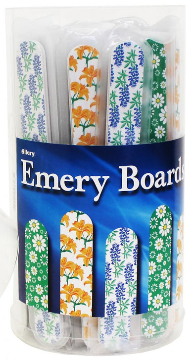 Allary Floral Emery Boards